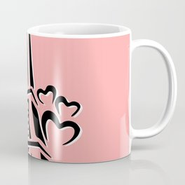 Pink Eiffle Tower Coffee Mug