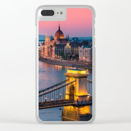 BUDAPEST 02 Clear iPhone Case