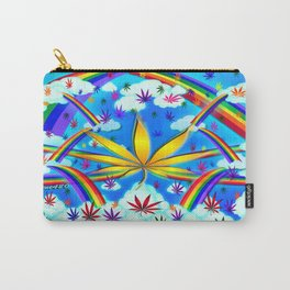 WetPaint420, High In The Rainbow Sky Carry-All Pouch