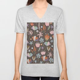 Little flowers Unisex V-Neck