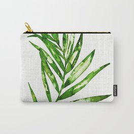 Green ink painting - fern Carry-All Pouch