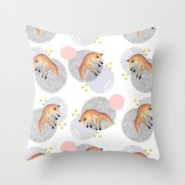 The Fox Assuption Throw Pillow