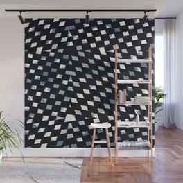 Black Diamonds Wall Mural