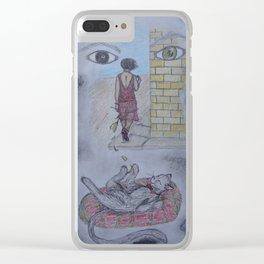 Margarita Clear iPhone Case