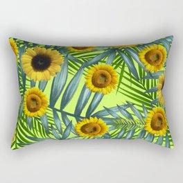 Sunflower Party #3 Rectangular Pillow