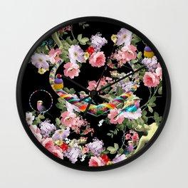 Hoop Love Wall Clock