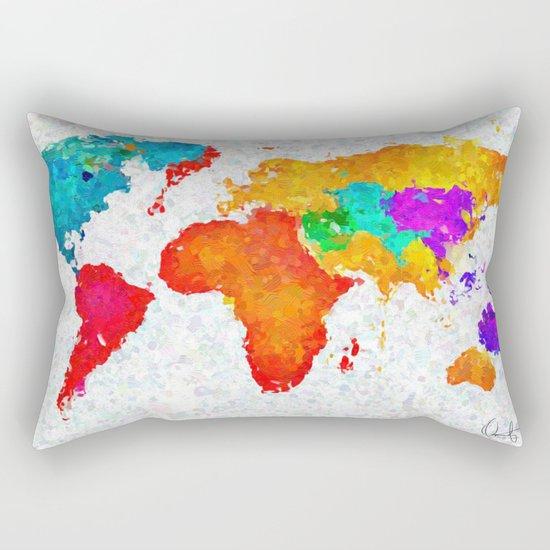 My World of Art   Rectangular Pillow