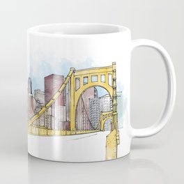 Pittsburgh Sister Bridge Coffee Mug