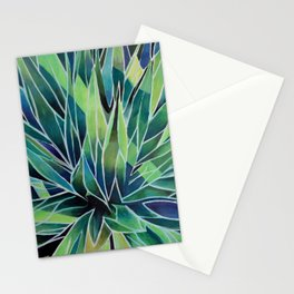 agave abstracta Stationery Cards