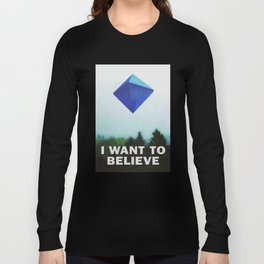 I WANT TO BELIEVE - 5TH ANGEL Long Sleeve T-shirt
