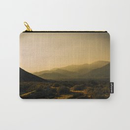 The Fading Light of Gorgonio Pass Carry-All Pouch