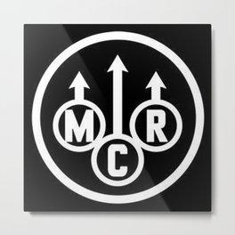 MCR Metal Print
