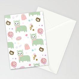 Kawaii Alpacasso  Stationery Cards