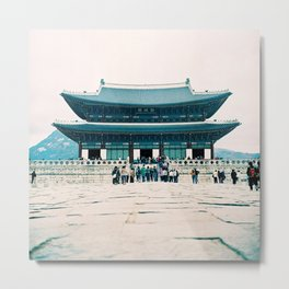 Korean Palace Metal Print