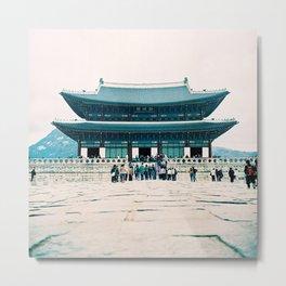 Korean Palace Metal Print