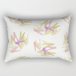 Сlothespins Rectangular Pillow