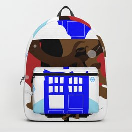 Upside Down Time Travel Backpack