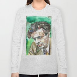 ALDOUS HUXLEY - watercolor portrait.2 Long Sleeve T-shirt
