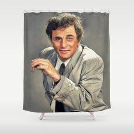Peter Falk, Actor Shower Curtain