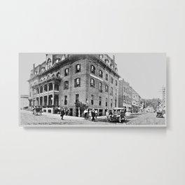 Burleigh House, Ticonderoga 1913 Metal Print