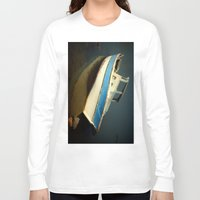 boat Long Sleeve T-shirts featuring boat by habish