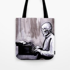 One Of Those On Whom Nothing Is Lost Tote Bag