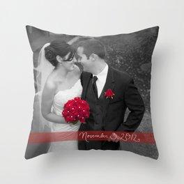 Custom Wedding Decor Throw Pillow