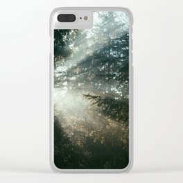 sunray madness Clear iPhone Case