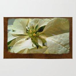 Pale Yellow Poinsettia 1 Blank P3F0 Rug