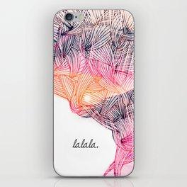 _LA LA LA iPhone Skin