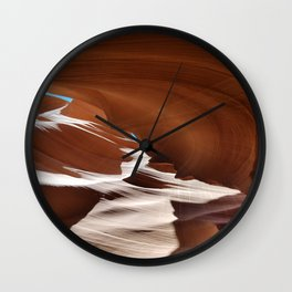 Antelope  Canyon #6 Wall Clock
