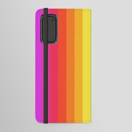 Solid Rainbow Android Wallet Case