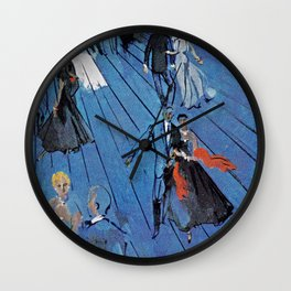 Romance On The High Seas Wall Clock