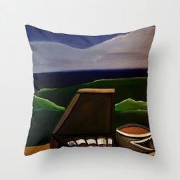 Los Puros y Cafe Throw Pillow