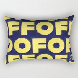 OMUNDOPORAI Edward Ruscha Rectangular Pillow