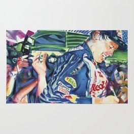 Vettel Signing Rug