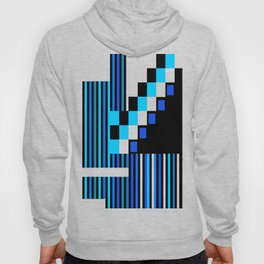 Playing with Colors   Shapes   Black and White   I Feel Blue Hoody