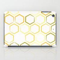 honeycomb iPad Cases featuring Honeycomb by Thomas Knapp