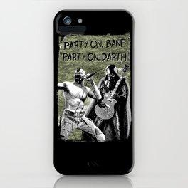 Bane/Darth in Camo iPhone Case