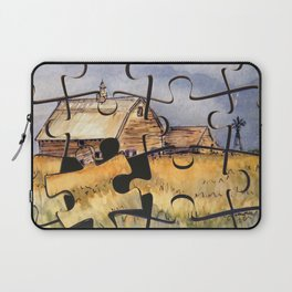 Barn Puzzle Laptop Sleeve