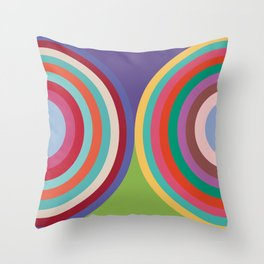 PANTONE COLOR OF THE YEAR 19 YEARS - 2000 - 2018 -20 COLORS Throw Pillow