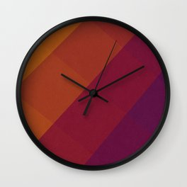 Square Abstract Gradient Art Wall Clock