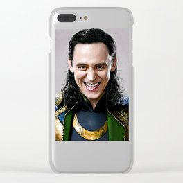 Loki -There Are No Men Like Me XVI Clear iPhone Case