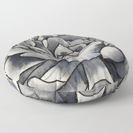 Sumptuous Succulent Floor Pillow