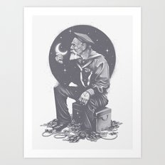 Not All Treasure Is Silver & Gold Art Print