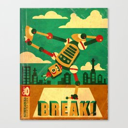 Breakbot Canvas Print