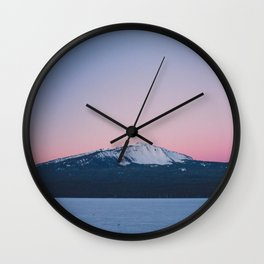 Winter Sunrise  Wall Clock