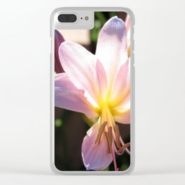 Summer Glory Clear iPhone Case