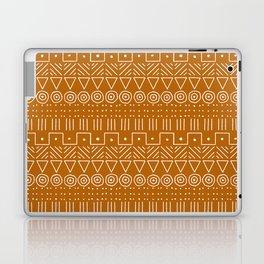 Mudcloth Style 1 in Orange Laptop & iPad Skin