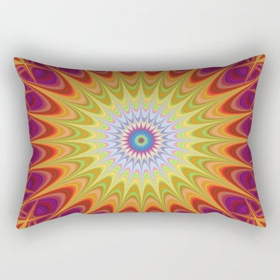 Mandala sun Rectangular Pillow